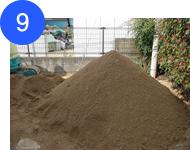 真砂土埋め戻し